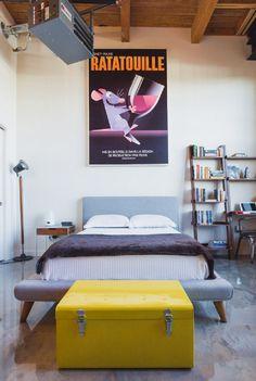Ratatouille Bedroom Design