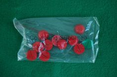 Subbuteo red bases sealed