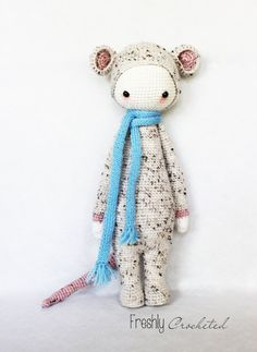 Rada the rat, crocheted doll, MADE TO ORDER <---- wormtail