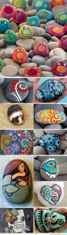 Great Idea for Stone Art