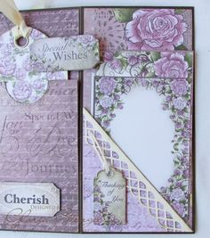 Welcome to another Heartfelt Creations Wednesday! I have a little mini album to share with you today. This week I am using two older paper...