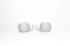 Ratona Grey Cup von tánata cerámica·madrid auf DaWanda.com