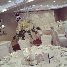 Winter wonderland Weddings in the Menai Suite