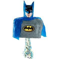3D Batman Brave and Bold Pull Ribbon String Pinata