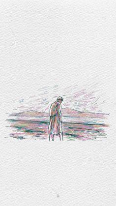 — junmyeon: 'self-portrait' paintings . Music Drawings, Pretty Drawings, Art Drawings Sketches, Paris Wallpaper, Disney Wallpaper, Of Wallpaper, Wallpaper Iphone Cute, Cute Wallpapers, Exo Lockscreen
