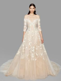 Marchesa bridal fall 2017 Wedding Dresses romantic,modern brides will be obsessed