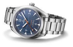 Omega Railmaster 'Denim' Co-Axial Master Chronometer Watch Watch Releases Omega Railmaster, Casual Watches, Watches For Men, Bracelet Nato, Omega Planet Ocean, Stud Earrings For Men, Seamaster 300, Moon Watch, Hublot Watches