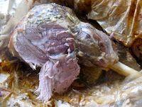 David Hall: Slow roast paper wrapped leg of lamb