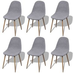 6x Eames Inspired Fabric Dining Chair in Light Grey shopping Buy Dining Furniture online at MyDeal for best deals coupons bargains sales  sc 1 st  Pinterest & Upholstered Dining Chair | Kra-zee | Pinterest | Upholstered dining ...