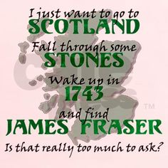 Outlander series by Diana Gabaldon <3 I k ow a few women who will love this @Wendy Ferguson @lindsayblackstock