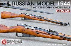 Russian Mosin Nagant Model 1944 7.62x54R Carbine(Add best of 5, hand pick)