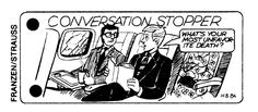 """Conversation Stoppers"" from The Village Voice, 1984"