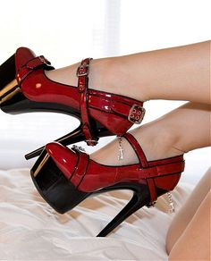 $115.25 #Red #High #Heels