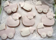New Baby Girl Cookies Baby Girl Cookies, Step Cards, Card Making Tutorials, New Baby Girls, Cupcake Cakes, Cupcakes, Cookie Cutters, Fondant, New Baby Products