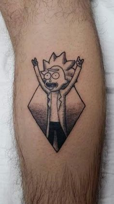 Tiny Rick by Kat at Ink Remedy in Perth Western Australia