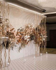 """Kaidang Design on Instagram: """"The wedding decoration inspired from Art Deco style, style of luxury and modernity. Earth tone is the main color and accent with orange…"""" Wedding Stage Backdrop, Wedding Backdrop Design, Wedding Stage Design, Wedding Design Inspiration, Wedding Isle Decorations, Engagement Decorations, Backdrop Decorations, Wedding Photo Walls, Wedding Arch Rustic"""