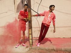 Pharrell Williams and Adidas accused of cultural appropriation with Holi Festival-inspired collaboration Pharrell Williams, Holi, Viviane Sassen, Cultural Appropriation, Bape, Spring Summer 2018, Puma, Orange Color, Reebok