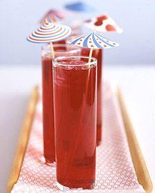 Diy Drink Parasols + Free Download - Martha Stewart Crafts