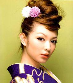 画像 : 【着物】和装ウェディング・真似したい髪型60選【結婚式】 - NAVER まとめ