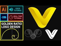 How to design a logo using golden ratio | Adobe Illustrator Tutorial - YouTube