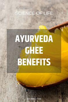 how to make ghee to increases ones immunity and vital energy. Ayurvedic Diet, Ayurvedic Medicine, Holistic Medicine, Ayurveda Lifestyle, Making Ghee, Pitta Dosha, Pranayama, Health Quotes, Healthy Life