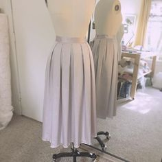 cool vancouver wedding Pleats please! Loving this colour @flanakat;) #boxpleats #mulberry #icedgrape #skirt #satin #custommade #bespokedesign #madewithlove #justbeyou #joannadelaneybridal  #vancouverwedding #vancouverwedding