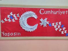 2016 Cumhuriyet bayramı okul panomuz