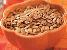 Garlic Pumpkin Seeds Recipe