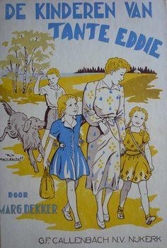 Marg. Dekker: 'De kinderen van tante Eddie; tekeningen van Rie Reinderhoff: G.F. Callenbach N.V. - Uitgever - Nijkerk