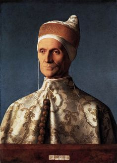 BELLINI, Giovanni Portrait of Doge Leonardo Loredan 1501 Oil on panel, 62 x 45 cm National Gallery, London
