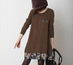 Showmyfashion 2014 Spring Chocolate Knit Inner by Showmyfashion, $56.99