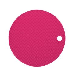 Descanso de Panela ColourWorks Silicone Rosa Kitchen Craft - 311310015-4 - presentesrodriguez