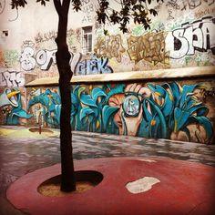 Street Art in Barcelona.⠀ - Spain