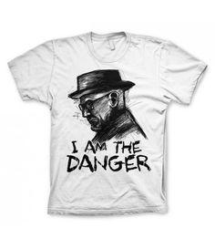 T-shirt Homme Heisenberg Blanc en vente sur www.freakypink.com Boutique en ligne de mode alternative pour hommes et femmes. T-shirt en vente ici http://www.freakypink.com/t-shirts/818-t-shirt-heisenberg-blanc.htm