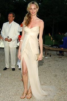 Lauren Santo Domingo don't give a shit I would wear this for my wedding
