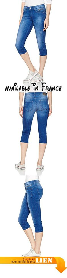 B01NARRBT8 : M.O.D Eva Short Femme Blau (Sweden Blue Destroyed 1800) 34. #Apparel #SHORTS