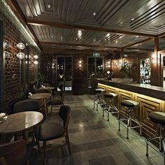 Munferit Restaurant Interior_good tiling on the walls