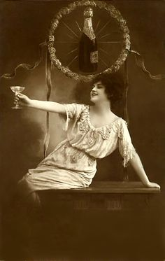 Happy New Year~!...now... go forth, and drink like a Dutch woman in 1913.