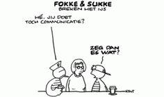 Communicatie volgens Fokke en Sukke