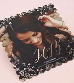 The class of 2015 is one to celebrate. Create custom grad announcements at Tiny Prints.