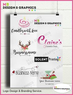 MB Design and graphics: Completed Logo designs