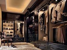 Walk-in closet of every girls dream
