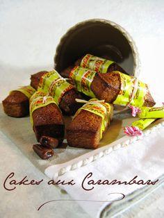 J'en reprendrai bien un bout...: Cakes aux Carambars®