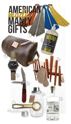 Manly American Made Gift Guide