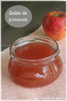 Gelée de pommes ou comment utiliser les épluchures et trognons de pommes (thermomix)