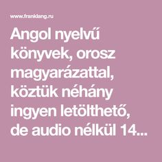 Angol nyelvű könyvek, orosz magyarázattal, köztük néhány ingyen letölthető, de audio nélkül 14-teksty-na-anglijskom-yazyke-adaptirovannye-po-metodu-chteniya-ili-franka Black Brick