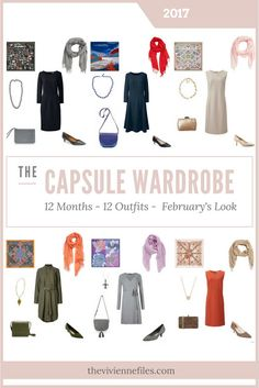 Still to early to pick a favourite. Build a Capsule Wardrobe in 12 Months, 12 Outfits - February 2017