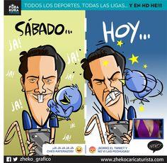 """#ElCartonDelDia """"EFRAÍN POCOS WEBS"""" @efrajuarez22 @Rayados @Tuzos #FinalLigaMx #FuePecho"""