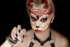 Cat Sugar Skull   Makeup: Unique Irish    Photography: Hope Shots Photography