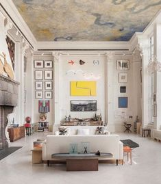 Ny Loft, New York Loft, Interior Architecture, Interior And Exterior, Interior Design, Decoration, Home And Living, Living Room Decor, Living Rooms